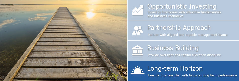 Long-term Horizon - Execute business plan with focus on long-term performance